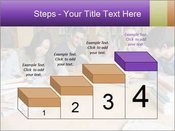 Students In Library PowerPoint Template - Slide 64