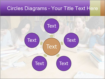 Students In Library PowerPoint Template - Slide 78