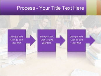 Students In Library PowerPoint Template - Slide 88