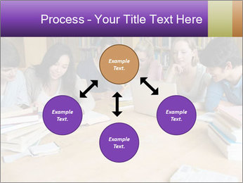 Students In Library PowerPoint Template - Slide 91