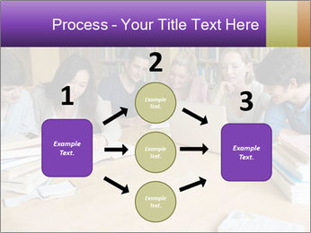 Students In Library PowerPoint Template - Slide 92