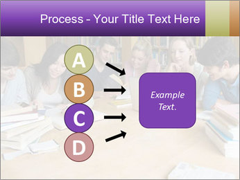 Students In Library PowerPoint Template - Slide 94