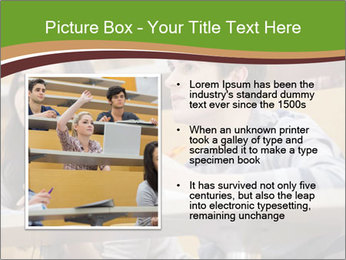 First Year Students PowerPoint Template - Slide 13