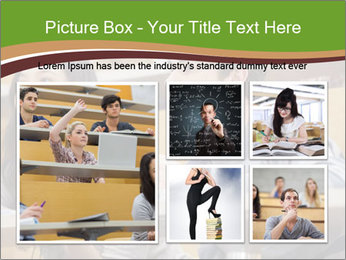 First Year Students PowerPoint Template - Slide 19