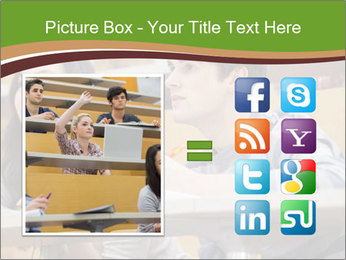 First Year Students PowerPoint Template - Slide 21