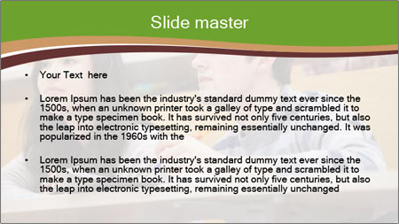 First Year Students PowerPoint Template - Slide 2