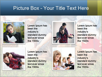 Kids With Books PowerPoint Template - Slide 14