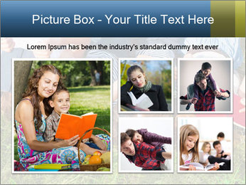 Kids With Books PowerPoint Template - Slide 19