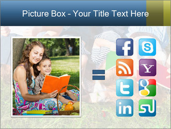 Kids With Books PowerPoint Template - Slide 21