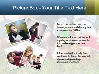Kids With Books PowerPoint Template - Slide 23