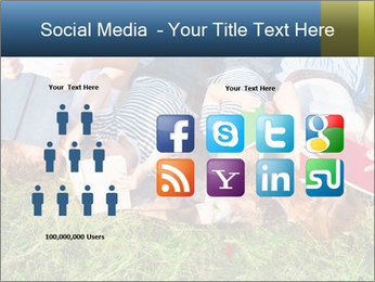 Kids With Books PowerPoint Template - Slide 5