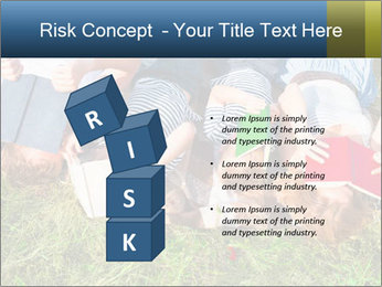 Kids With Books PowerPoint Template - Slide 81