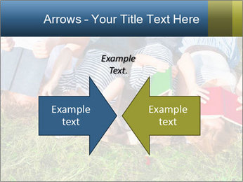 Kids With Books PowerPoint Template - Slide 90