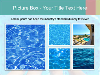 Feet And Swimming Pool PowerPoint Template - Slide 19