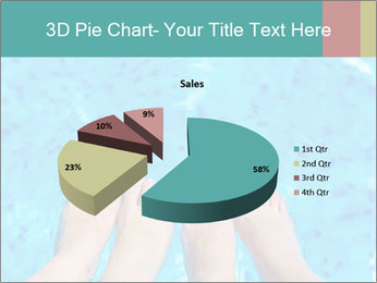 Feet And Swimming Pool PowerPoint Template - Slide 35
