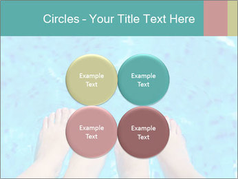 Feet And Swimming Pool PowerPoint Template - Slide 38