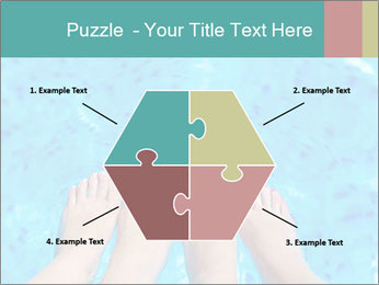 Feet And Swimming Pool PowerPoint Template - Slide 40