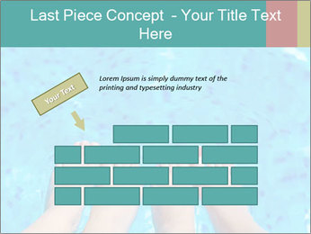 Feet And Swimming Pool PowerPoint Template - Slide 46