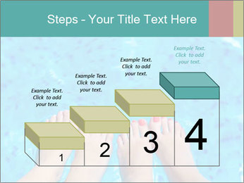 Feet And Swimming Pool PowerPoint Template - Slide 64