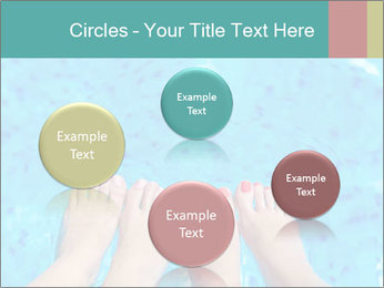 Feet And Swimming Pool PowerPoint Template - Slide 77