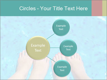 Feet And Swimming Pool PowerPoint Template - Slide 79