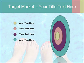 Feet And Swimming Pool PowerPoint Template - Slide 84
