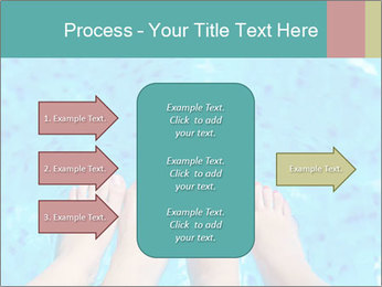 Feet And Swimming Pool PowerPoint Template - Slide 85