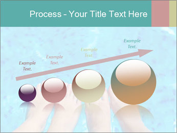 Feet And Swimming Pool PowerPoint Template - Slide 87