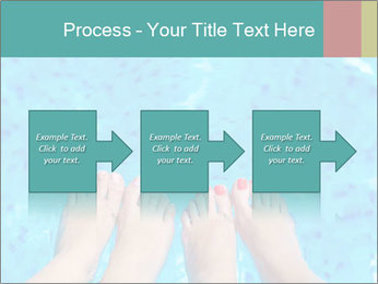 Feet And Swimming Pool PowerPoint Template - Slide 88