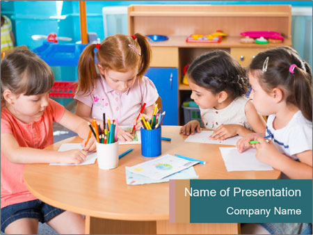 Arts For Kids PowerPoint Templates