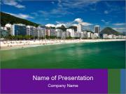 Coast In Rio PowerPoint Templates