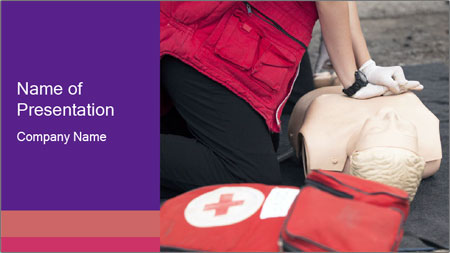 First Aid Training PowerPoint Template
