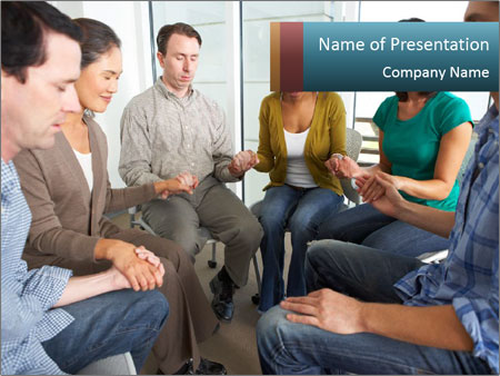 Religious Group PowerPoint Template