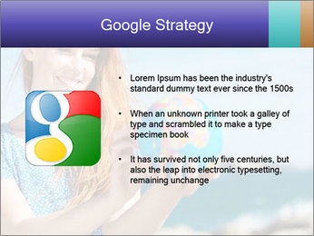 Woman Holding Globus PowerPoint Template - Slide 10