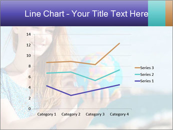Woman Holding Globus PowerPoint Template - Slide 54