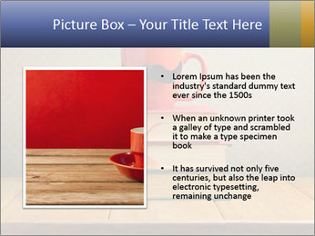 Red Cup And Books PowerPoint Template - Slide 13