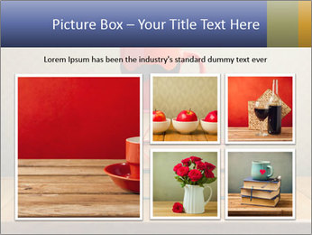 Red Cup And Books PowerPoint Template - Slide 19