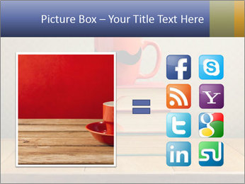 Red Cup And Books PowerPoint Template - Slide 21