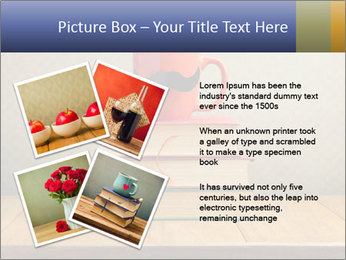 Red Cup And Books PowerPoint Template - Slide 23