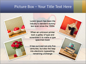Red Cup And Books PowerPoint Template - Slide 24