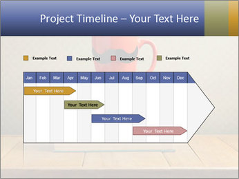Red Cup And Books PowerPoint Template - Slide 25