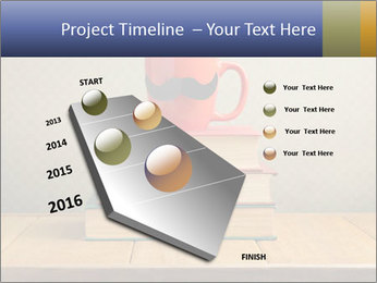 Red Cup And Books PowerPoint Template - Slide 26