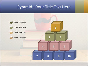 Red Cup And Books PowerPoint Template - Slide 31