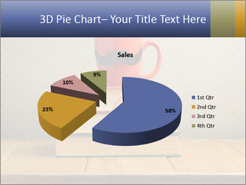 Red Cup And Books PowerPoint Template - Slide 35