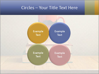 Red Cup And Books PowerPoint Template - Slide 38