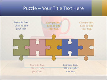 Red Cup And Books PowerPoint Template - Slide 41