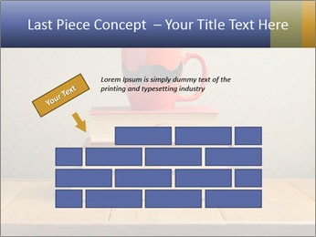 Red Cup And Books PowerPoint Template - Slide 46