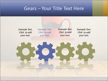 Red Cup And Books PowerPoint Template - Slide 48