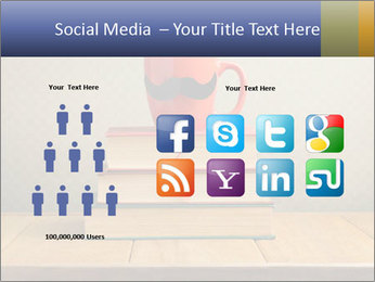 Red Cup And Books PowerPoint Template - Slide 5