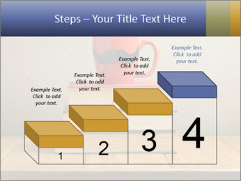 Red Cup And Books PowerPoint Template - Slide 64